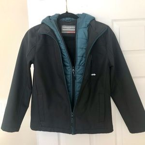 Youth water resistant jacket